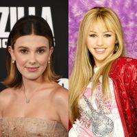 """E a Millie Bobby Brown que aprendeu a fazer sotaque americano assistindo """"Hannah Montana""""?"""