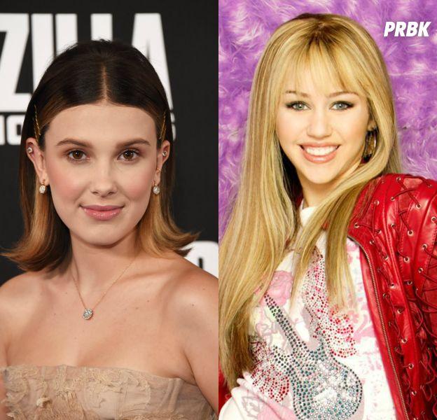 """Millie Bobby Brown, de """"Stranger Things"""", aprendeu fazer sotaque americano com """"Hannah Montana"""""""