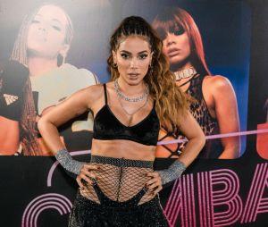 Anitta diz que não pretende fazer lives para não correr o risco de ser criticada