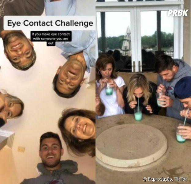Família viraliza no TikTok com olimpíada caseira durante a quarentena. Veja os vídeos