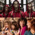 """""""La Casa de Papel"""" e """"Valéria"""": veja o que estas séries da Netflix têm em comum"""