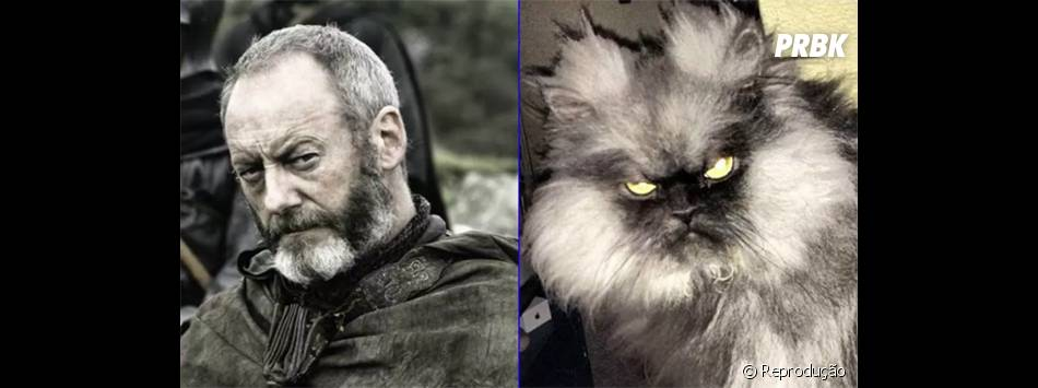 """Sr. Davos (Liam Cunningham) nunca esteve tão gato em """"Game of Thrones"""""""