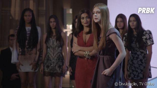 """""""Totalmente Demais"""": Eliza (Marina Ruy Barbosa) não sabe muito bem como receber críticas e absorvê-las"""