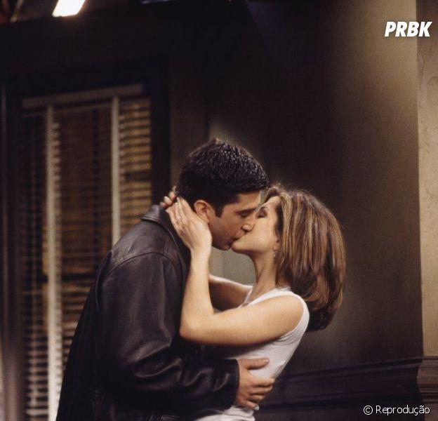 """Friends"": Rachel (Jennifer Aniston) e Ross (David Schwimmer) estavam dando um tempo?"