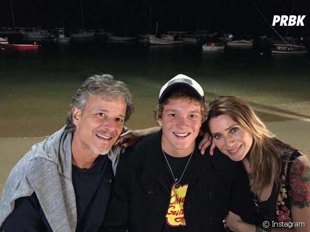 """Ex-""""Malhação"""", Pedro Noaves é filho de Leticia Spiller e Marcello Novaes"""