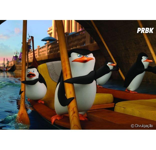 """""""Os Pinguins de Madagascar"""" tem estreia prevista para 15 de janeiro"""