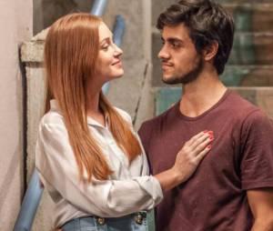 """""""Totalmente Demais"""": Eliza (Marina Ruy Barbosa) e Jonatas (Felipe Simas) podem ficar juntos no final. Você torce para esse casal?"""