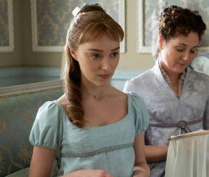 """""""Bridgerton"""" é a adaptação de uma série de 9 livros que, na sua primeira temporada, traz Daphne Bridgerton (Phoebe Dynevor) como protagonista"""