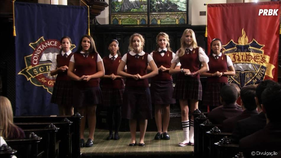 """Em """"Gossip Girl"""", os personagens estudavam na Constance Billard (para meninas) e na St. Jude's (para meninos)!"""