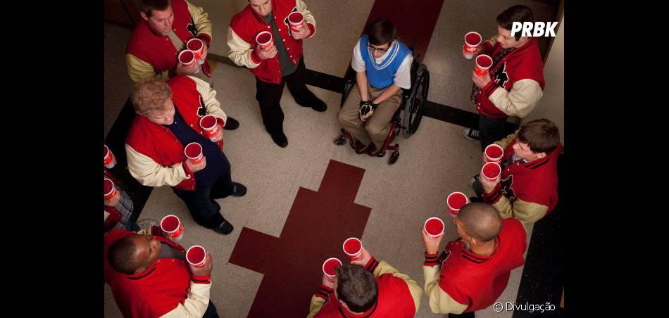 """As raspadinhas nos corredores da William McKinley High de """"Glee"""" também nunca poderão ser esquecidas!"""