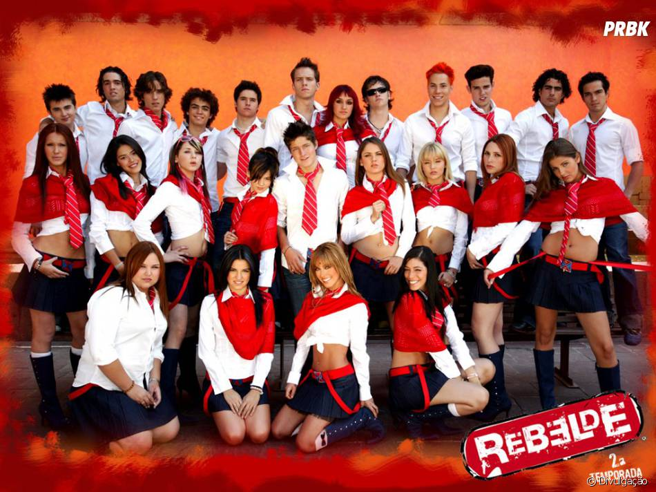 "O elenco de ""Rebelde"" se divertia e aprotava muito na Elite Way School!"