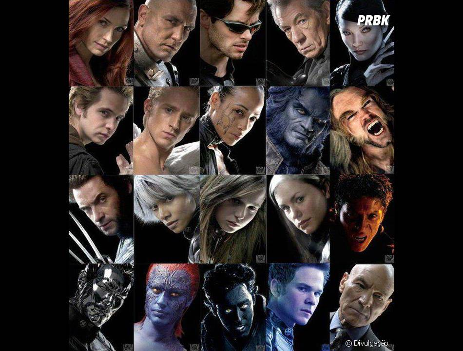 """Foram vários os mutantes famosos que passaram pelaEscola Charles Xavier para Jovens Superdotados de """"X-Men""""!"""