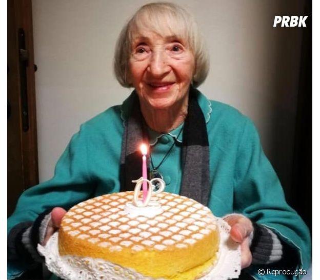 Essa senhora de 102 anos se recuperou da COVID-19