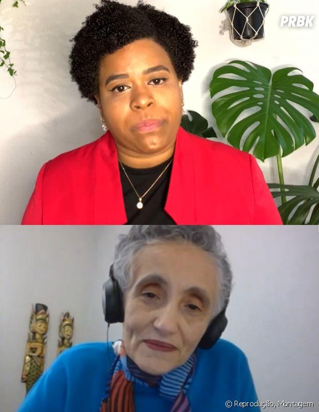 Ester Sabino e Jaqueline Goes de Jesus, cientistas pioneiras no estudo do coronavírus no Brasil