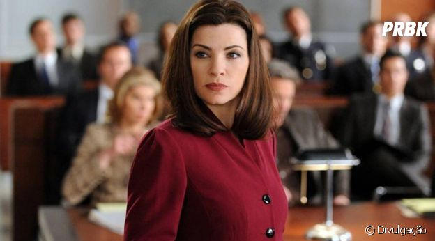 """The Good Wife"": a protagonista Alicia(Julianna Margulies) volta a advogar depois de um escândalo envolvendo seu marido"