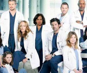 """""""Grey's Anatomy"""" é uma série médica protagonizada pela atriz Ellen Pompeo (Meredith Grey)"""