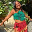 Kaê Guajajara é uma cantora e compositora indígena