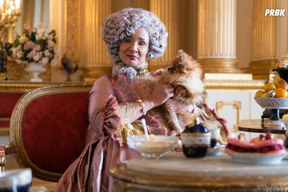 """""""Bridgerton"""": Rainha Charlotte (Golda Rosheuvel) foi uma das personagens que se destacaram na 1ª temporada"""