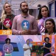 """""""BBB21"""": após saída de Sarah e brigas com Juliette, Gilberto coloca João e Fiuk no seu pódio"""
