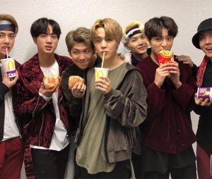 BTS assina lanche do McDonald's em parceria mundial