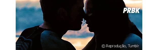 "Josh Hutcherston e Jennifer Lawrence (""Jogos Vorazes - Em Chamas"")"