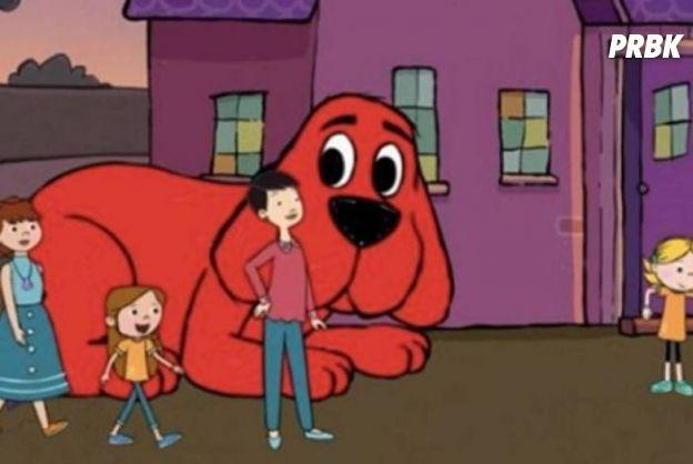"""Dra. e Sra. Amoreira são as mães de Samantha, em """"Clifford, o Gigante Cão Vermelho"""""""