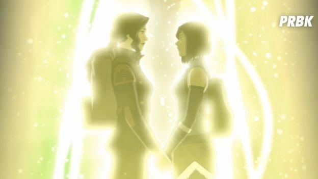 """Korra e Asami, de """"Avatar: a Lenda de Korra"""", são um casal"""