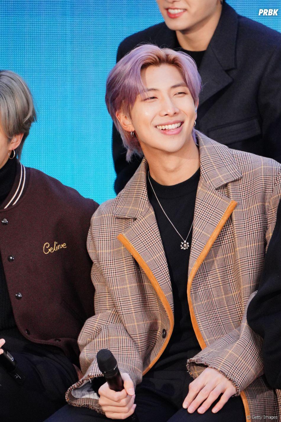 RM, do BTS, também levantou comentários sobre possível cor nova de cabelo