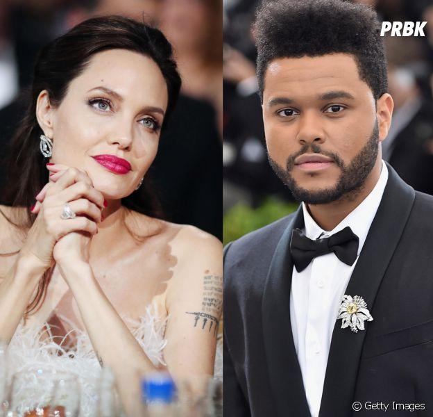 5 motivos para shippar Angelina Jolie e The Weeknd juntos
