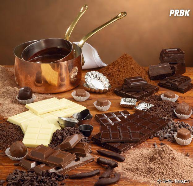 Escolha um chocolate e te daremos um clipe com tema de comida