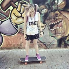 Karen Jonz, namorada do Lucas da banda Fresno, é tetracampeã mundial no skate!