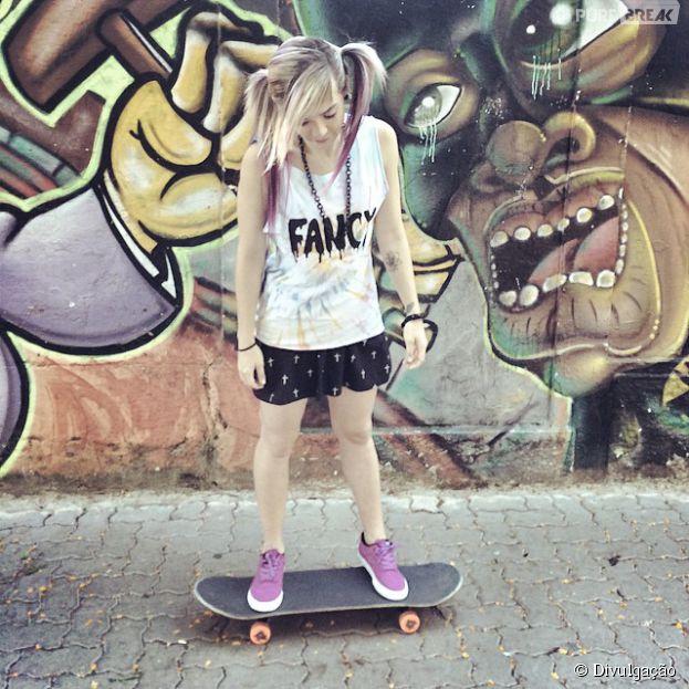 Karen Jonz comemora quarto título mundial em categoria no skate