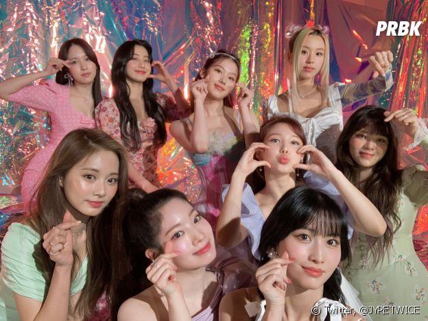 TWICE é um dos maiores girlgroups administrados pela JYP