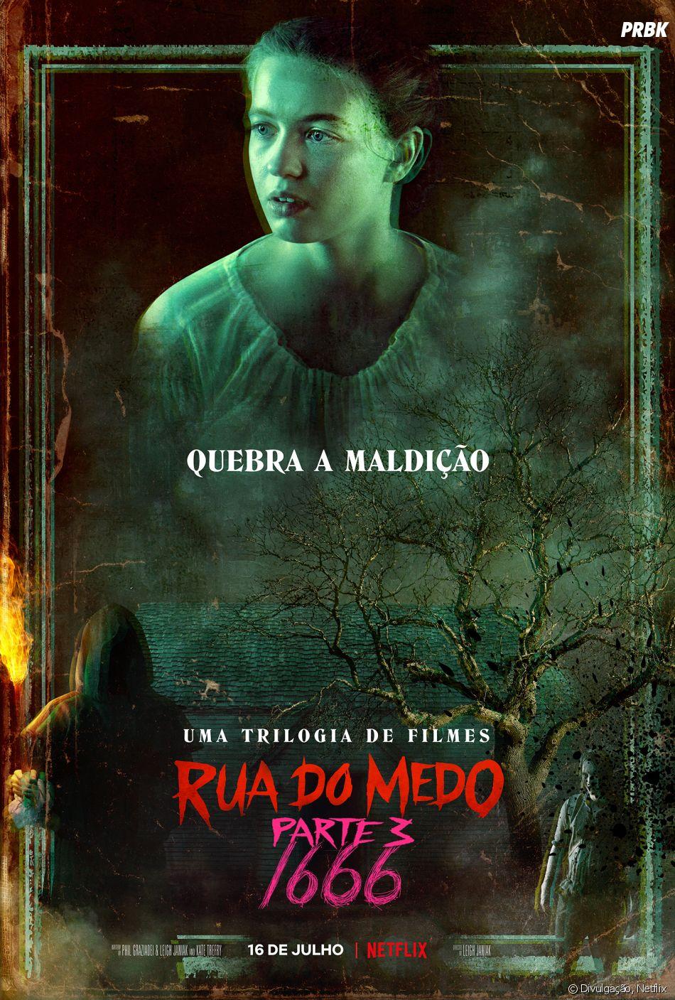 """O último filme da trilogia """"Rua do Medo"""" chegou à Netflix nesta sexta-feira (16) e agradou os fãs de terror"""