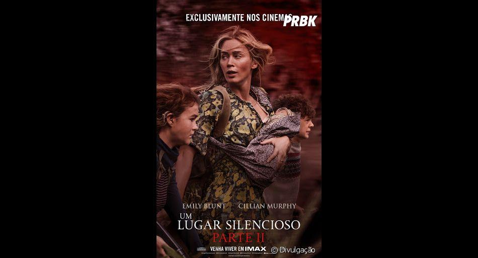 """A sequência de """"Um Lugar Silencioso"""" estreia este ano nos cinemas e promete bastante terror psicológico"""
