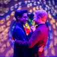 """O casal gay de """"High School Musical: The Musical: The Series"""" desenvolveu o relacionamento na segunda temporada da série da Disney"""