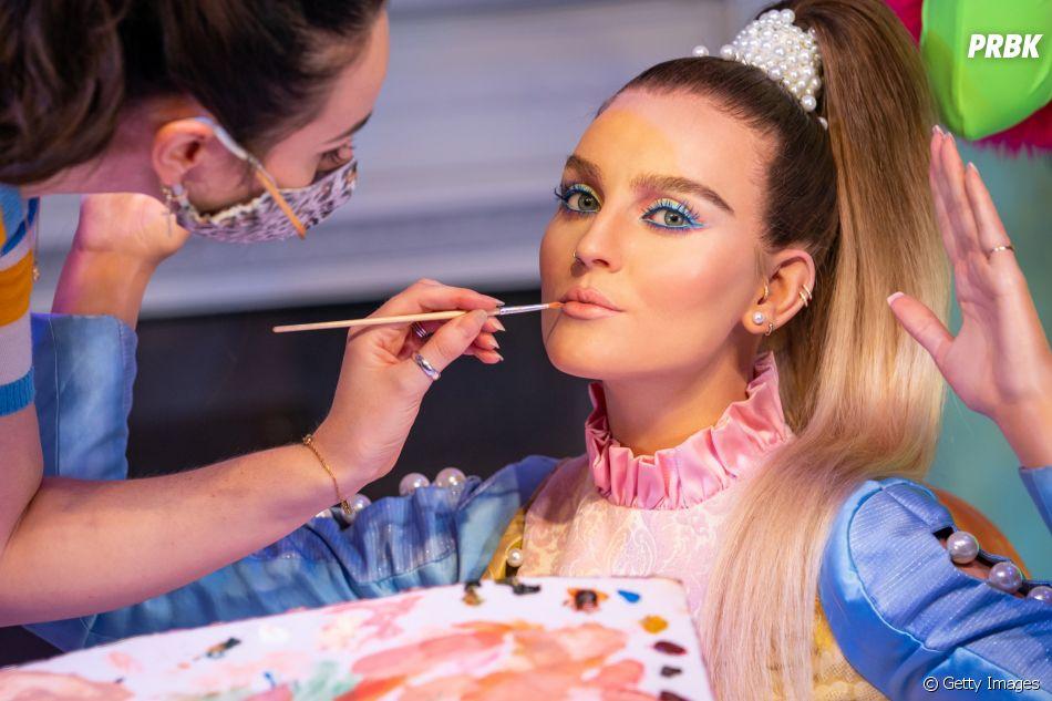 Little Mix virou estátua no Madame Tussauds nesta quarta-feira (28)