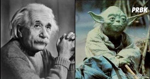 """O carismático jedi Yoda de """"Star Wars"""" foi baseado no cientista Albert Eistein"""
