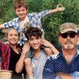 """""""Meu Verão na Provença"""":  na véspera da viagem, o pai confessa que pretende abandonar a família, e os três estão indo viajar à casa do avô, que nunca conheceram antes"""