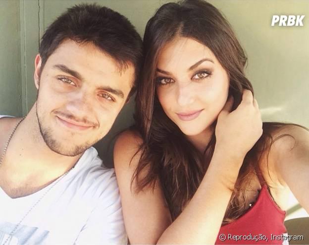 """Anaju Dorigon e Felipe Simas são o casal Jade e Cobra, ou Cobrade, em """"Malhação"""""""
