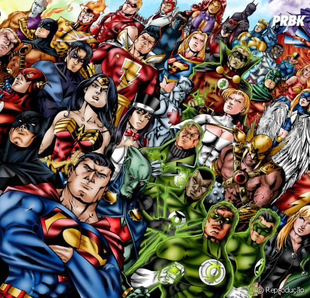 Marvel e DC Comics no mesmo trailer