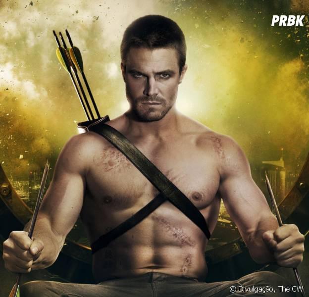 """""""Arrow"""" retorna no finalzinho de janeiro com a resposta para o destino de Oliver (Stephen Amell)"""