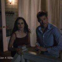 """Em """"Revenge"""": Na 4ª temporada, Victoria se desespera ao ver o corpo de Daniel (Josh Bowman)"""