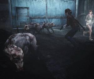 """Os Othrus de """"Resident Evil Revelations 2"""" costumam andar em bandos"""