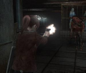 """Claire Redfield aparece atirando em """"Resident Evil Revelations 2"""""""