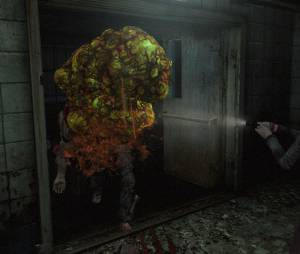 """Uma evolução dos Afflictec, a espécie Sloper de """"Resident Evil Revelations 2"""" libera um líquido que cega o jogador quando é atacado"""