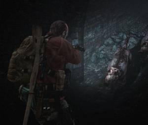 """Em """"Resident Evil Revelations 2"""": o animal selvagem da vez não é o cachorro, mas um javali chamado Othrus que anda sempre em bandos"""
