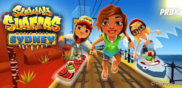 """Em """"Subway Surfers"""" você vai viajar pelo mundo correndo pelos trilhos"""