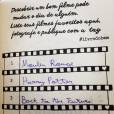 """O """"Livro do Bem"""" ajuda os leitores a dar dicas para outros viciados em livros através de hashtags"""