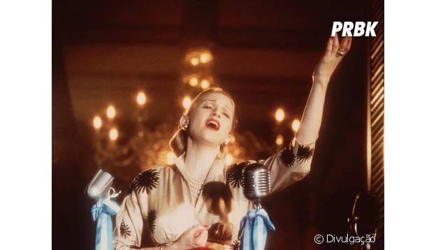 """Madonna fez o papel principal em """"Evita"""", longa que ganhou até Oscar!"""